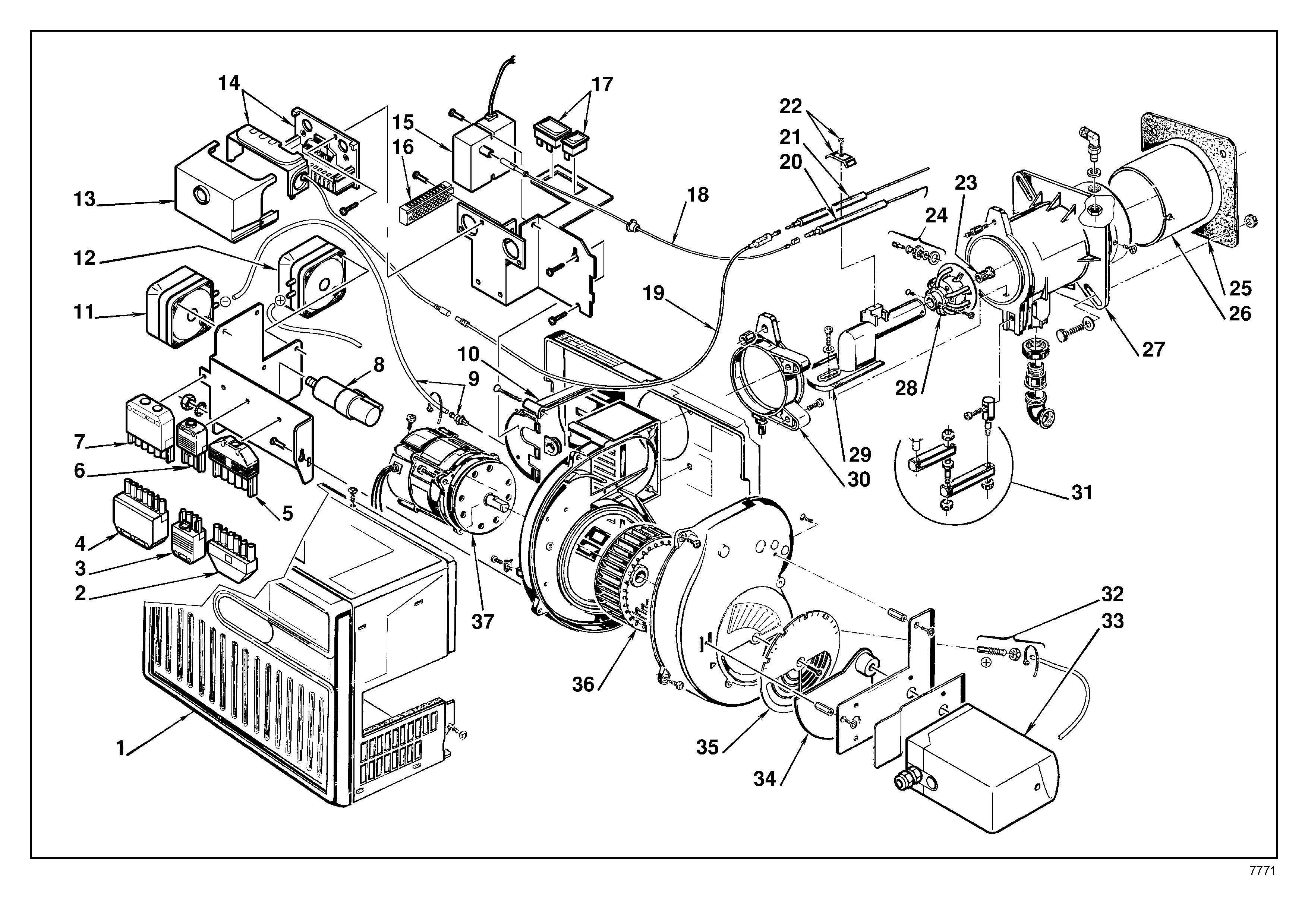 Product Page Motor Repalcement Parts And Diagram On Dc Servo Spares
